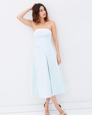 Friend of Audrey – Remember Me Dress Pale Blue