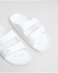 Cotton On Kids - Twin Strap Slides - Kids