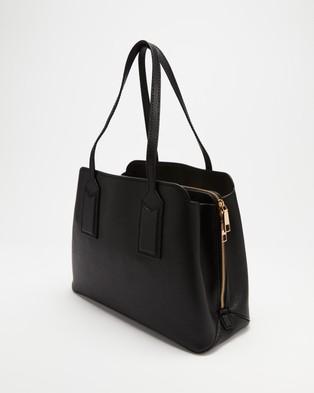 The Marc Jacobs The Editor 38 Tote Bag - Handbags (Black)