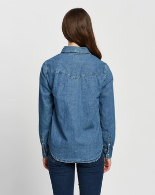 Levi's Essential Western Shirt - Tops (Going Steady)
