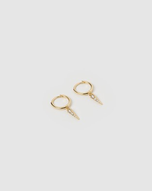 Arms Of Eve Siena Gold Earrings Jewellery Gold