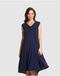 Soon Maternity - Francis Feeding Midi Dress