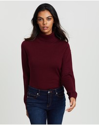 David Lawrence - Anita Roll Neck Top