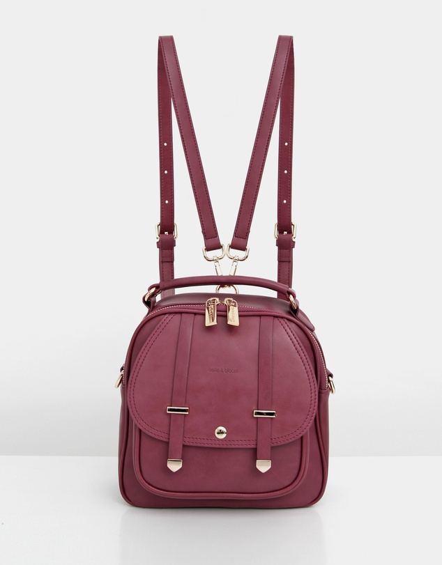 Women Camila Leather Backpack