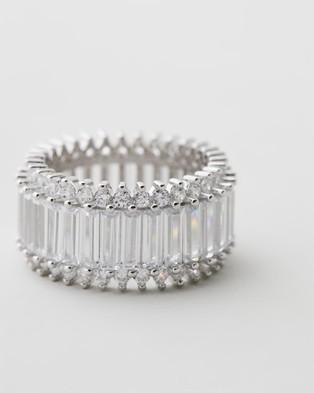 Bianc Matrix Ring - Jewellery (Sterling Silver Rhodium Plated)