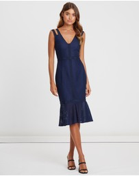 CHANCERY - Marcella Lace Midi Dress