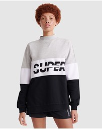 Superdry - Superdry Sport Pusher Crew
