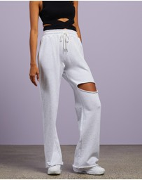 Dazie - Perfect Match Wide Leg Sweat Pants