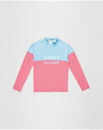 Tommy Hilfiger - Long Sleeve Rashguard - Teens