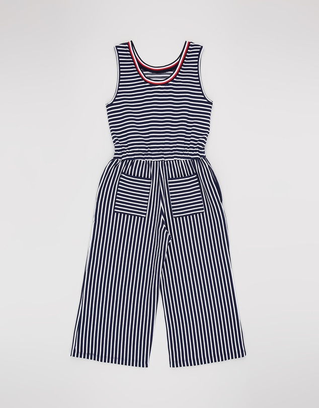 Tommy Hilfiger - Stripe Knit Jumpsuit - Teens