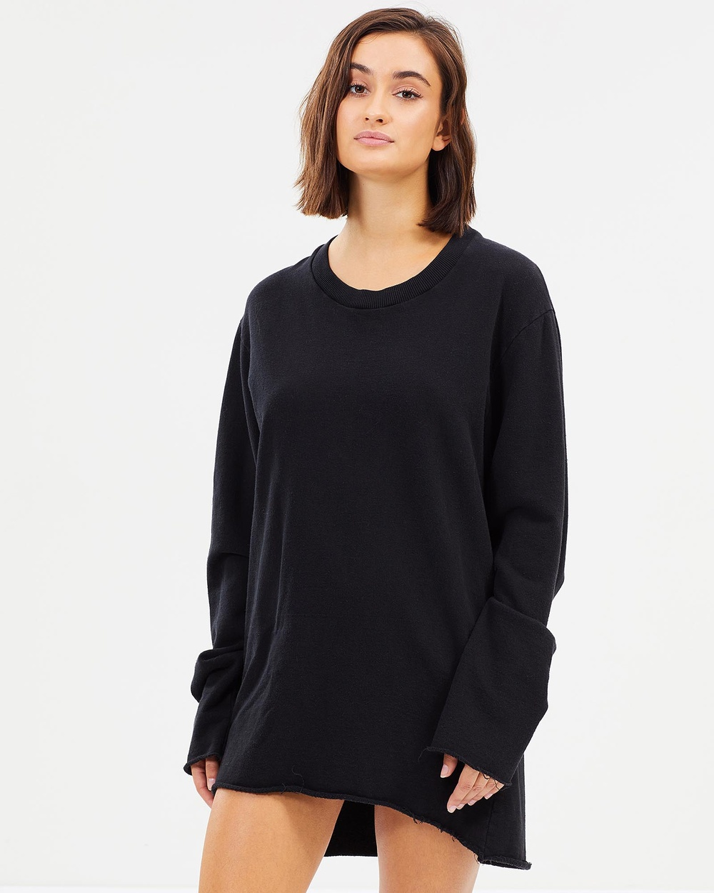 Surrounded By Ghosts The Cadmium Crew Dress Dresses Black The Cadmium Crew Dress