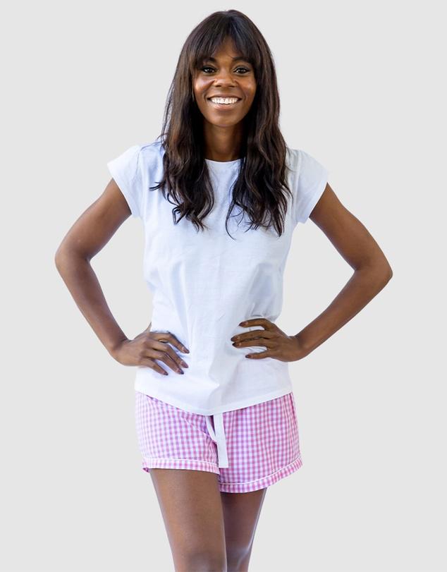 Women Women's White Jersey T-Shirt