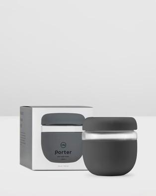 Porter Seal Tight Glass Bowl 710ml - Home (Grey)