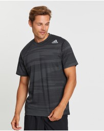 adidas Performance - FreeLift Winterized Jacquard Tee