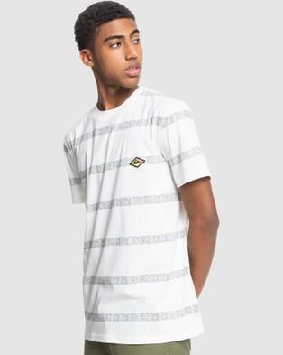 Quiksilver - Mens Heritage T Shirt - T-Shirts & Singlets (SNOW WHITE HERITAGE) Mens Heritage T-Shirt