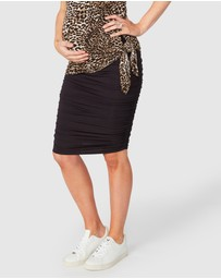 Pea in a Pod Maternity - Bailey Gather Pencil Skirt