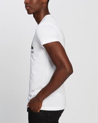 Diesel T Diego Logo T Shirt - T-Shirts & Singlets (White)