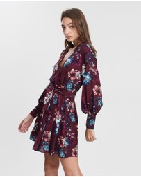 Nicholas - Floral Wrap Dress