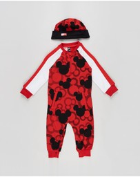 adidas Performance - Disney Mickey Mouse Onesie - Babies