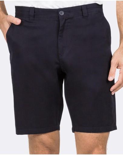 Blazer Balmain Chino Shorts Dark Navy