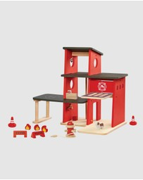 PlanToys - Fire Station - 3+ Years