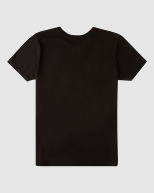 Billabong - Dr. Seuss The Grinch Groms Aloha Short Sleeve Tee T-Shirts (BLACK)