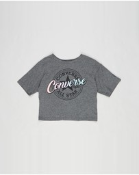 Converse - Tulip Hem Graphic Short Sleeve T-Shirt - Teens