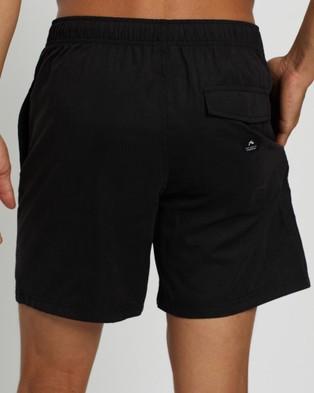 Rusty Dynamic Elastic Boardshorts - Shorts (Black)