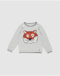 Fox & Finch - Le Tiger Knit Jumper - Kids
