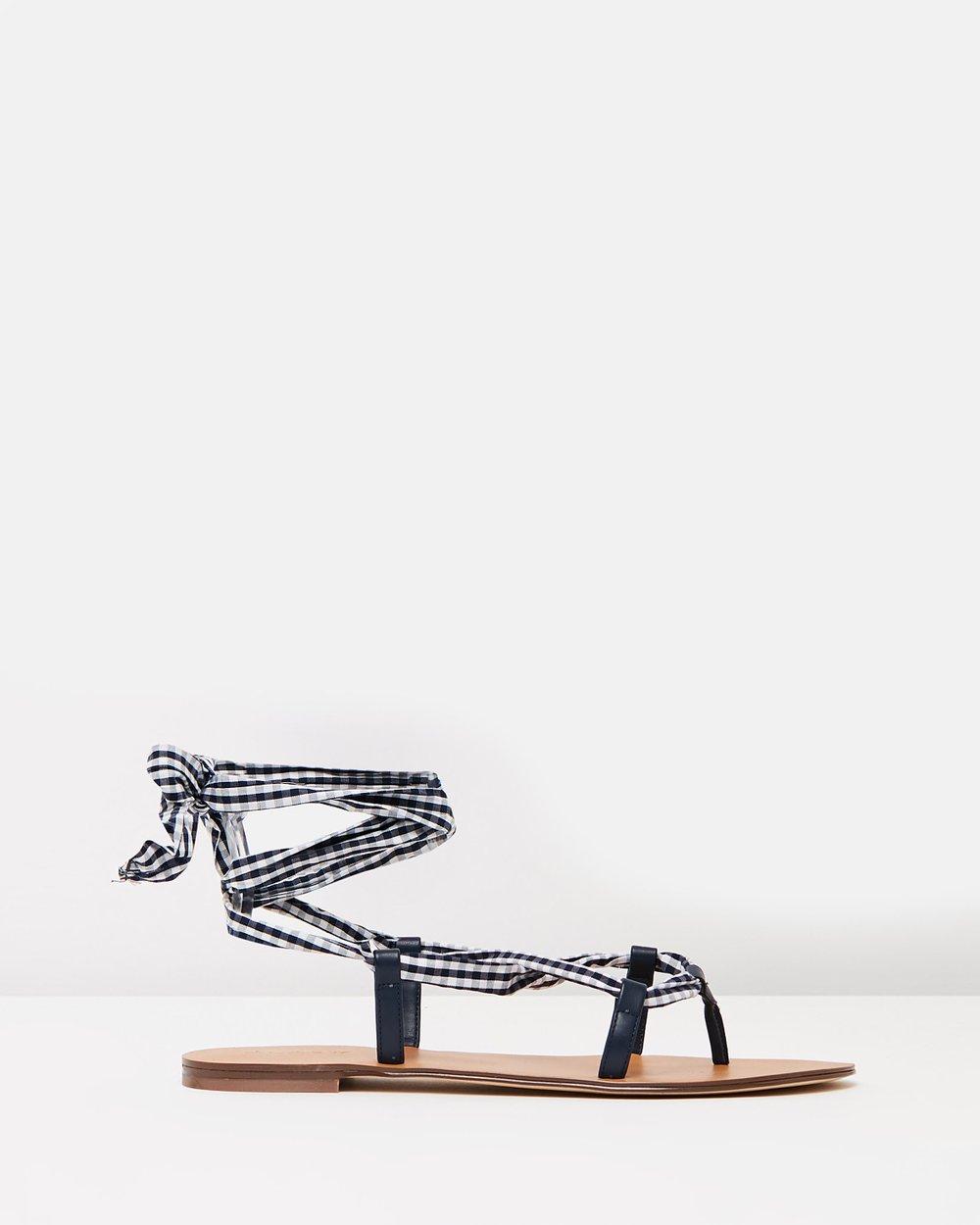 ce6786ea2313 Lace-Up Caspian Sandals by J.Crew Online