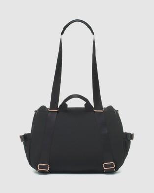 Storksak Poppy Luxe Diaper Bag - Backpacks (Black Scuba)
