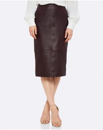 Oxford - Scout Leather Skirt