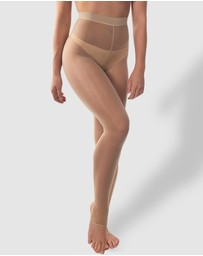 B Free Intimate Apparel - Ladder Resistant Shaping Footless Tights