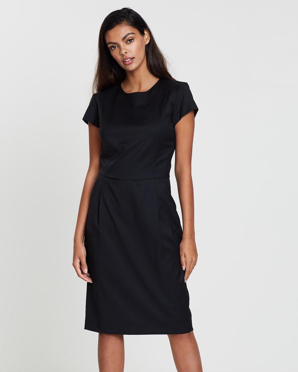 Farage - Core Bianca Dress Dresses (Black)