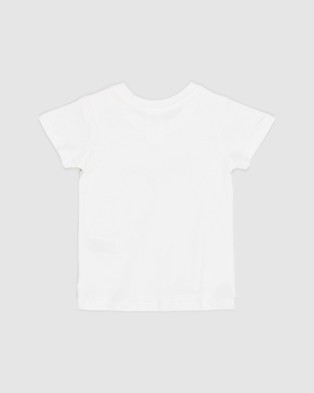 Cotton On Baby - Jamie Short Sleeve Tee   Babies - Clothing (Vanilla Hey You) Jamie Short Sleeve Tee - Babies