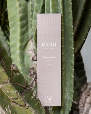 MAHO Sensory Artisan Leather Incense Sticks and Burner Set - Incense (Brown)