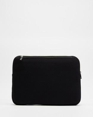 PETA AND JAIN Meli Neo Laptop Case - Tech Accessories (Black)