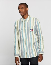 Tommy Jeans - Cotton Multi Stripe Shirt