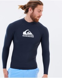 Quiksilver - Mens Heater Long Sleeve Rash Vest