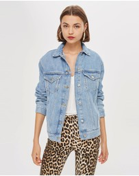 TOPSHOP - Oversized Denim Jacket
