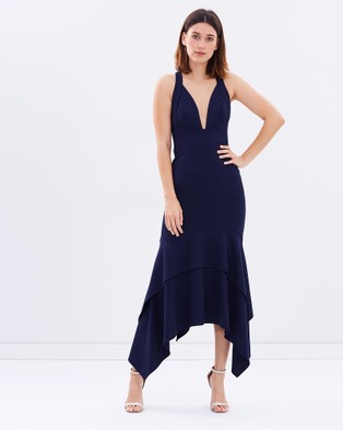 PS The Label – Midnight Allure Dress – Dresses (Navy)