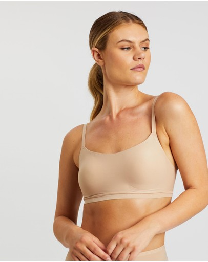 Chantelle Soft Stretch Padded Bralette Nude