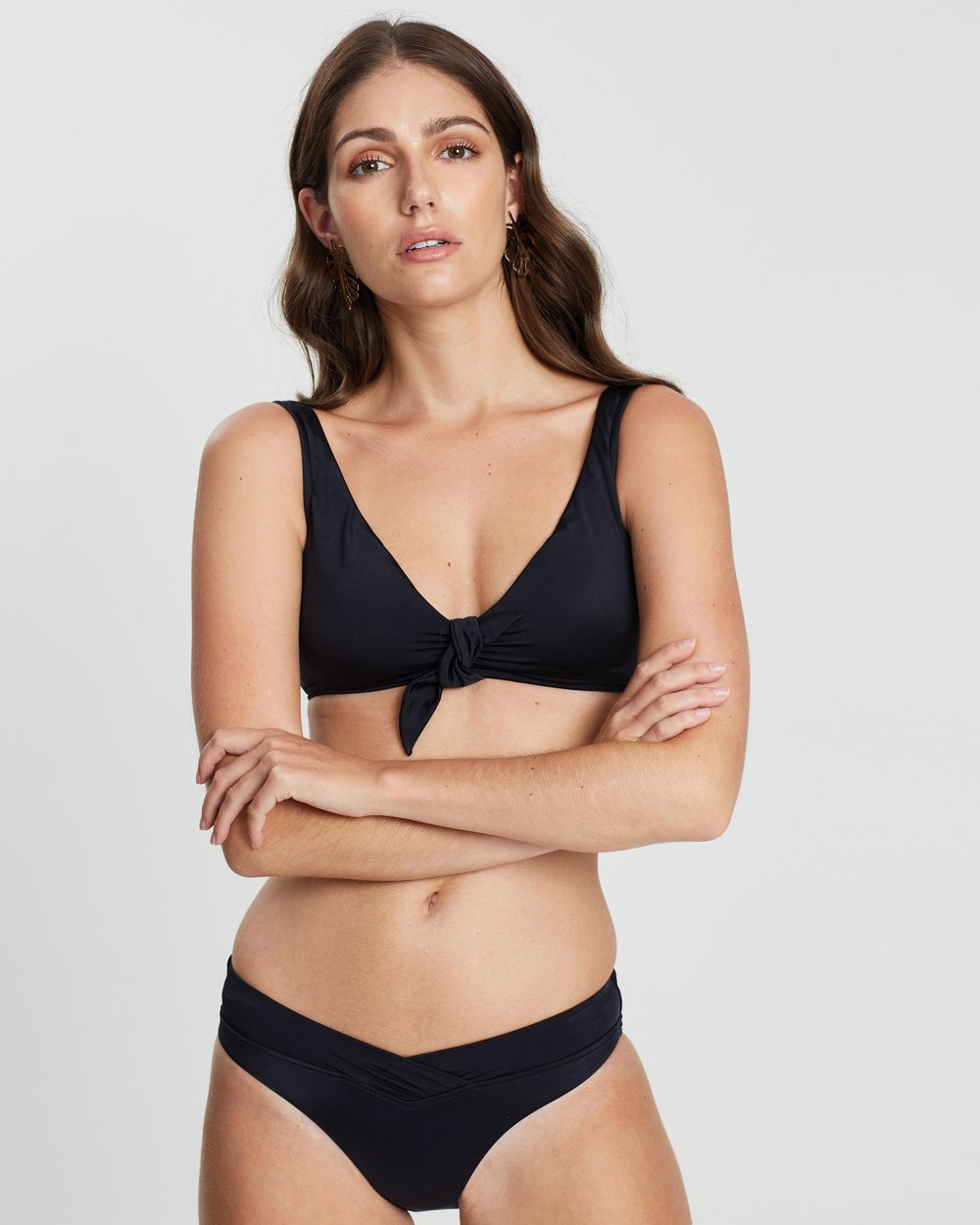 3c91017925806 Tie Front Crop Top by Seafolly Online