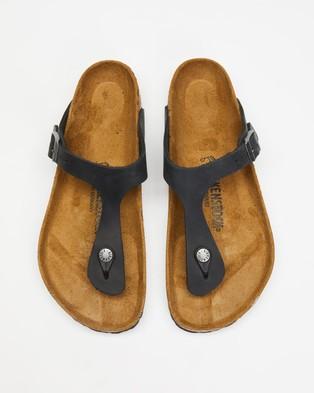 Birkenstock Gizeh Unisex Casual Shoes Black