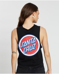 Santa Cruz - Retro Dot Muscle Tank