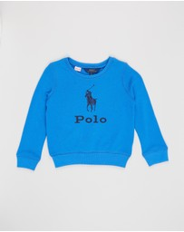 Polo Ralph Lauren - Big Pony French Terry Pullover - Kids