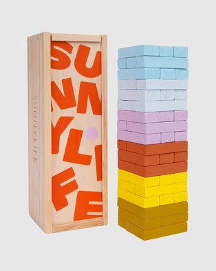 Sunnylife Travel Jumbling Tower - Accessories (Multi)