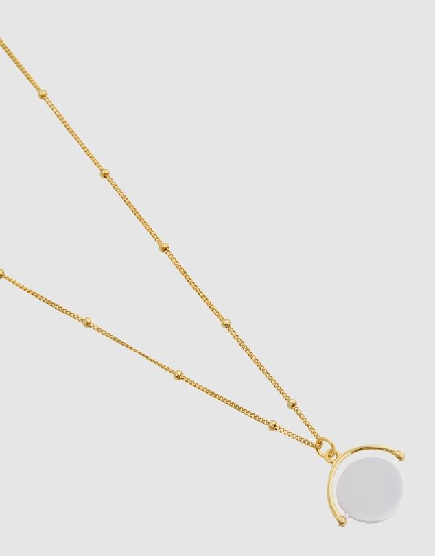 Women Silver Mist Necklace