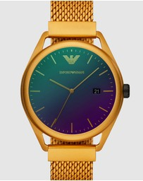 Emporio Armani - Yellow Analogue Watch AR11327