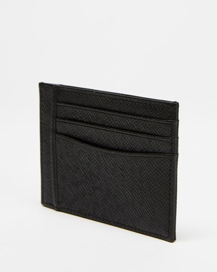 BOSS Signature Cardholder - Wallets (Black)